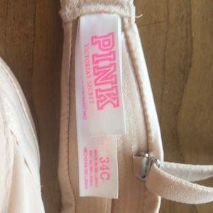 PINK Victoria's Secret Intimates & Sleepwear - Tan Victoria's Secret Push Up Bra 34C